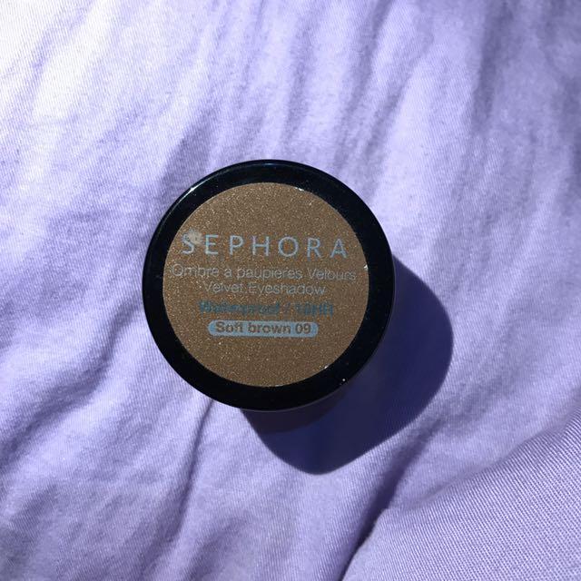 SEPHORA Velvet Eyeshadow