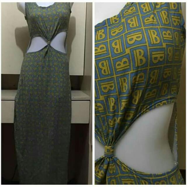 Sexy maxi dress med to large