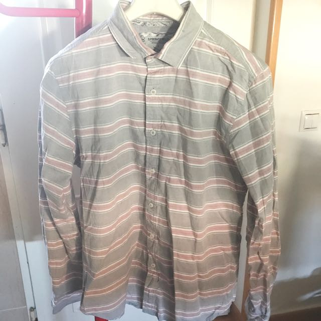Springfield Stripped Male Shirt