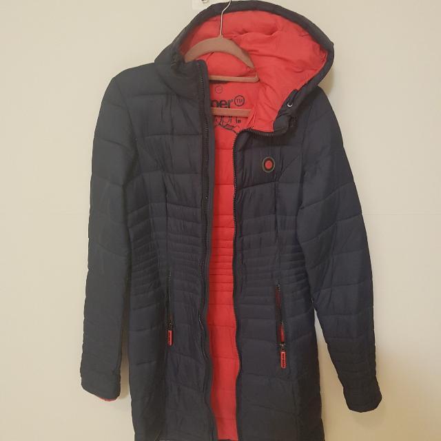 Super Dry薄雨絨外套
