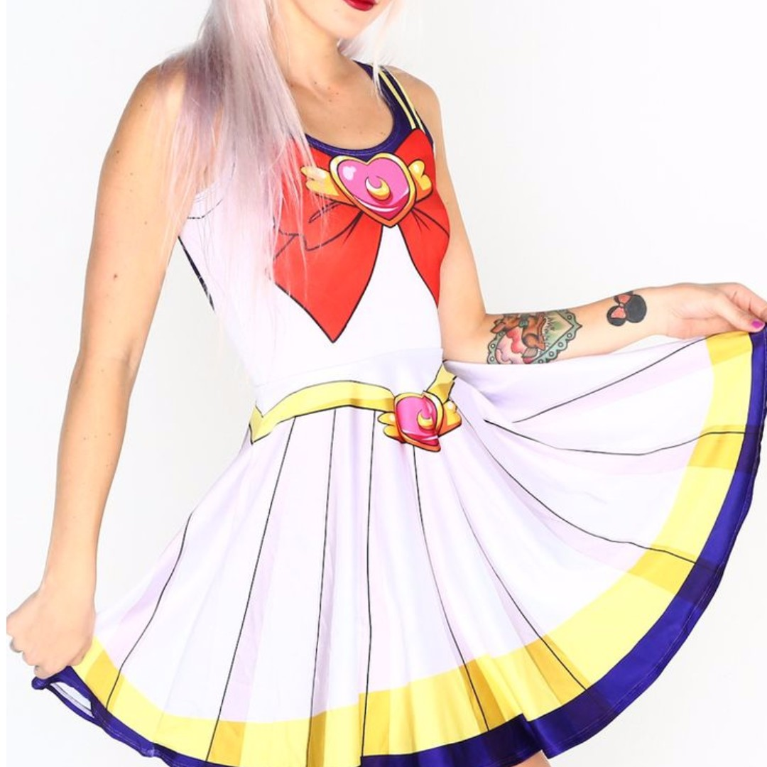 Super Sailor Moon skater dress Living Dead Clothing