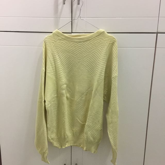 Sweater Kuning All Size
