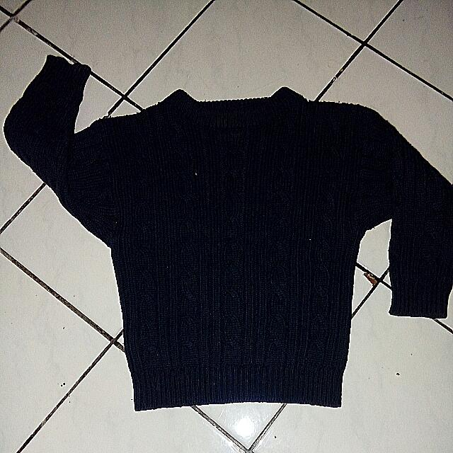 Sweater Balita Rajut Tebal