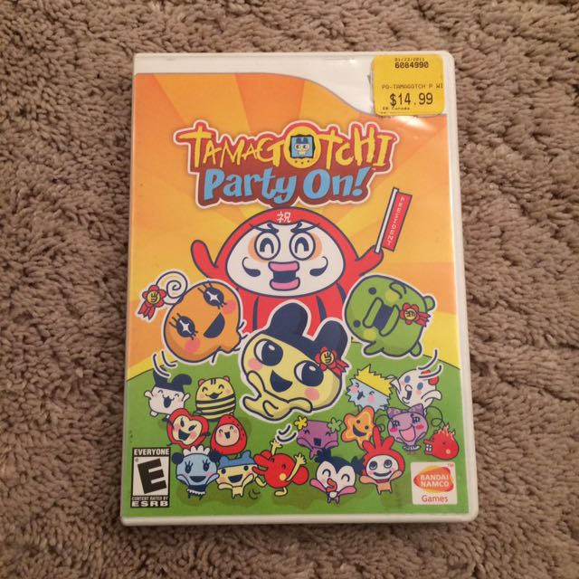 Tamagotchi Party On For Wii