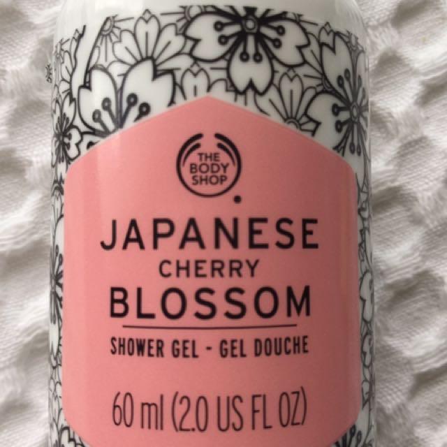 The Body Shop 'Japanese Cherry Blossom' Shower Gel