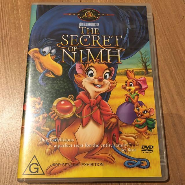 The Secret Of Nimh DVD