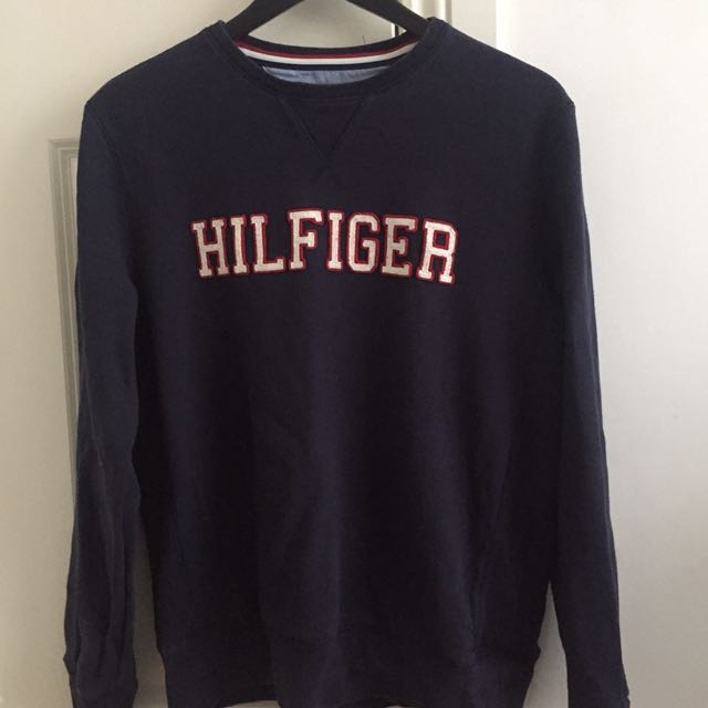 TOMMY HILFIGER Navy Jumper