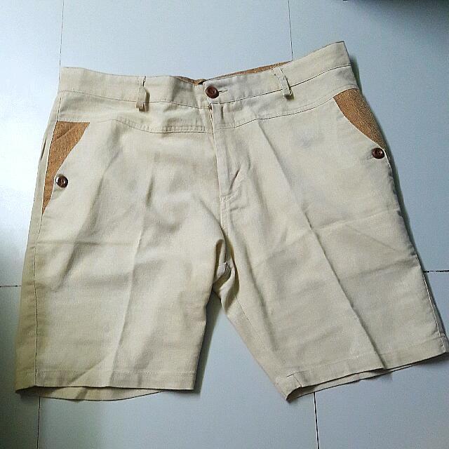 TOPMAN Linen Shorts