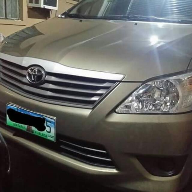 Toyota Innova E 2013 Automatic
