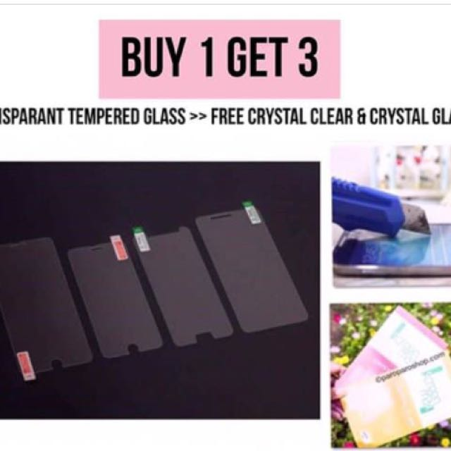 Transparant Tempered Glass