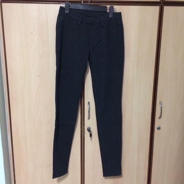 Uniqlo Leggings In Dark Grey