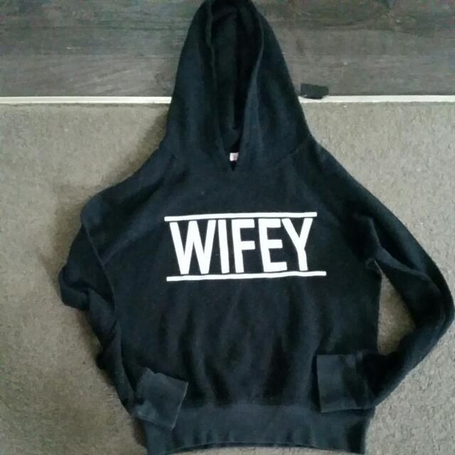 Wifey Hoodie Size xs