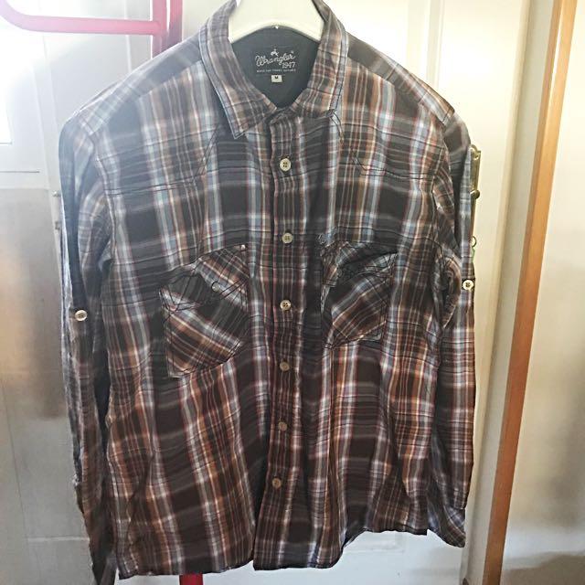 REPRICE!! Wrangler Checked Shirt
