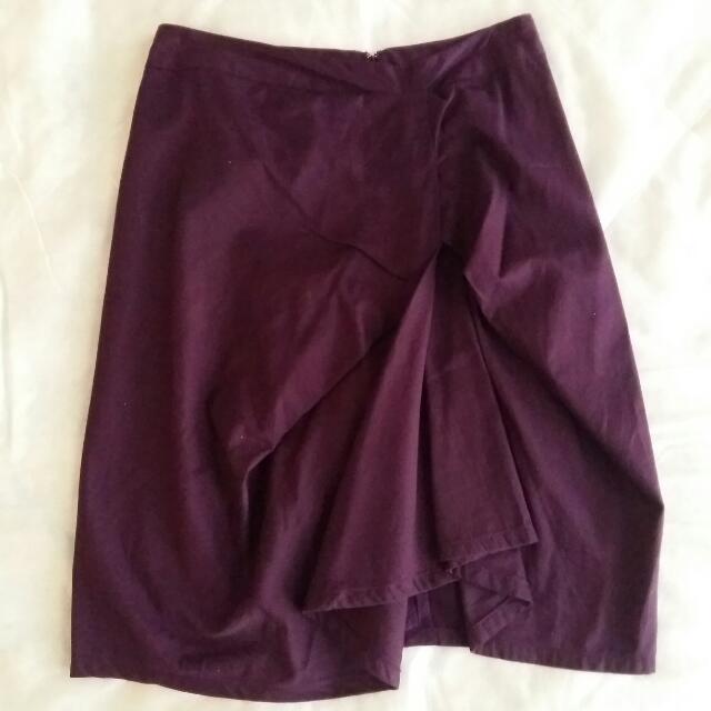 XSML Asymmetrical Skirt