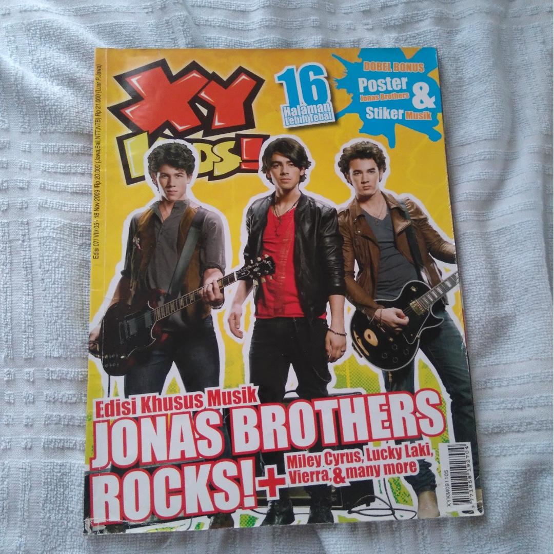 XY KIDS jonas brothers