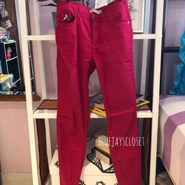 Zara Jeans - Hot Pink
