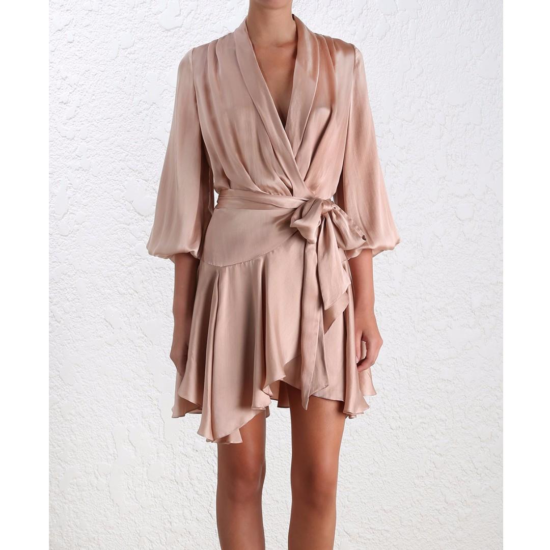 Silk Robe Dress