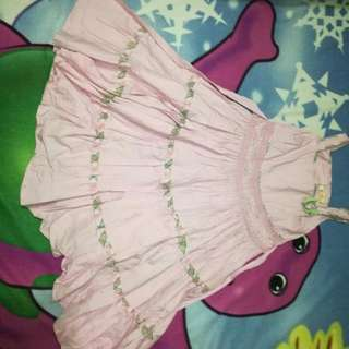 Pink dress for kids 5-7