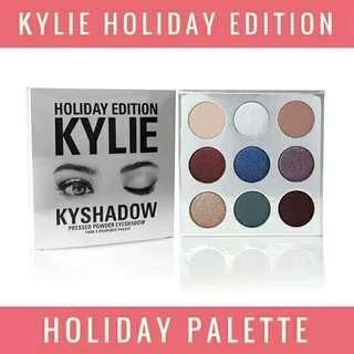 AUTHENTIC KYSHADOW - KYLIE HOLIDAY PALLETE