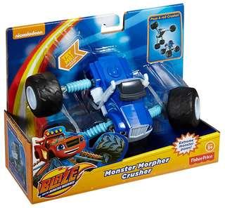 Fisher-Price Nickelodeon Blaze & The Monster Machines Monster Morpher Crusher Vehicle