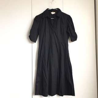 Size M 97%cotton 3% Spandex Little Black Dress For Office Or Casual Formal