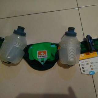 Running Belt With 2x600ml Bottles Trail Nathan