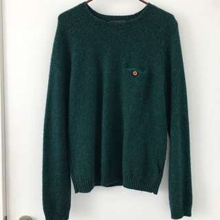 TOPMAN Wool Sweater With Pocket