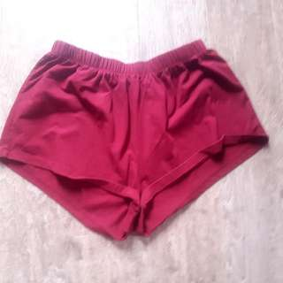 Red Short Shorts