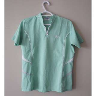 YONEX Mint Green Golf/Racquet Sport Shirt
