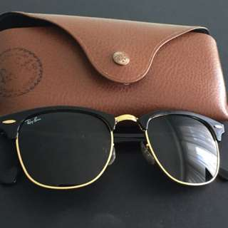 Ray Ban Black Clubmaster