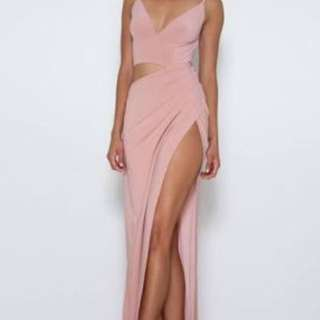 Abyss By Abby Lee Gown Pink