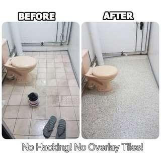 Toilet Floor Tiles