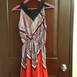 Red Triangle Dress