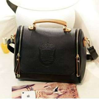 Brand new PU leather bag(black colour)
