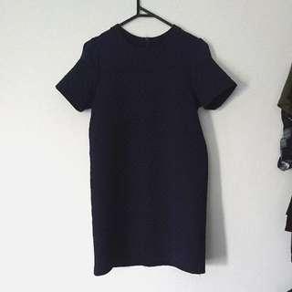 Something Borrowed Quilt Mesh Dress