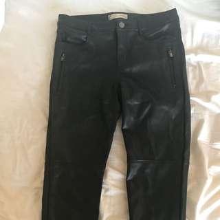Never Used Zara Leather Pants