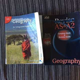 AS-level Geography Textbooks