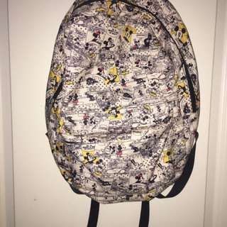 Mickey Mouse Comic Backpack