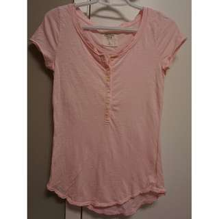 short sleeve henley top