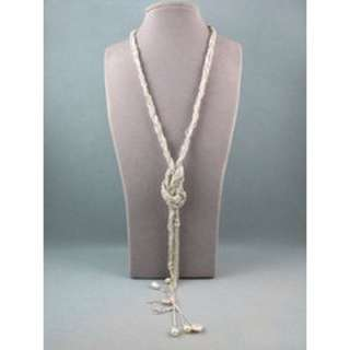 Elegant rope chain necklace for sale.