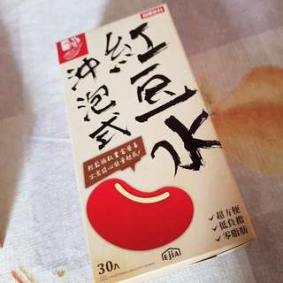 EJIA Instant Mix Drink Of Red bean (30 Packages x 2g)