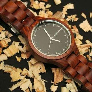 SAGE Wood Watch - Jam Tangan Kayu UNISEX