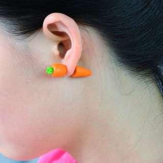 Carrot Earing