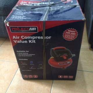 Spear and Jackson Project Air Compressor