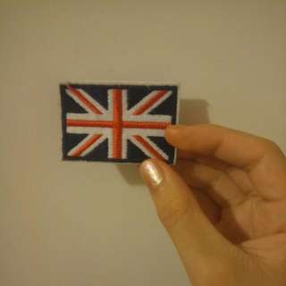UK Patch (Sew On)