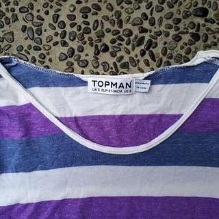 TOPMAN Striped Tee