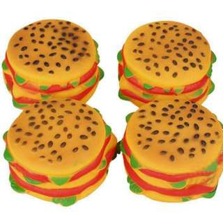 Hamburger Toy For Dogs