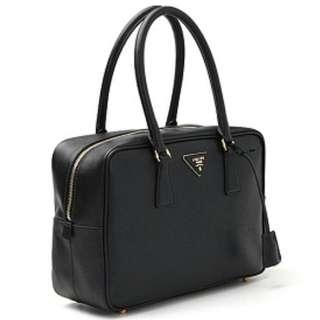 Prada Saffiano Lux Leather Doctor Shoulder Bag Handbag