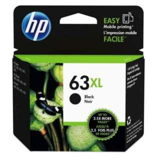 HP 63XL High Yield Black Original Ink Cartridge (F6U64AA) / HP 63XL高产黑色原装墨盒 (F6U64AA)