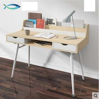 Simple and Neat Executive Table (Maple White)